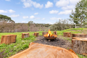 Barossa Idyll cosy fires and view